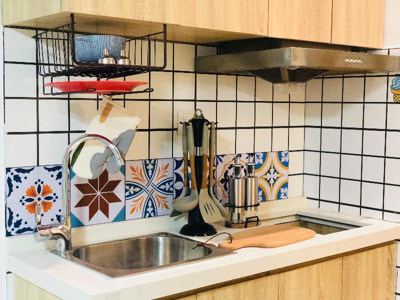 电梯厨房复式 · 泊寓-国际会展中心社区