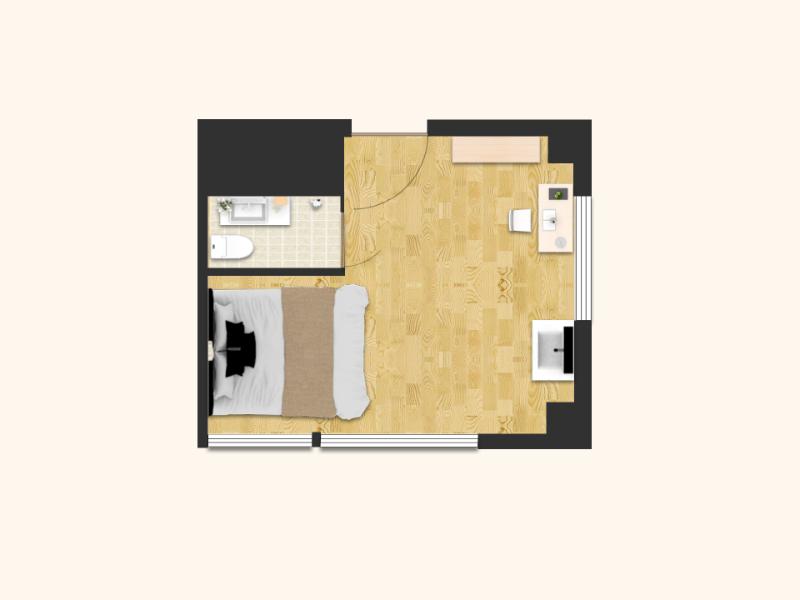 1楼小单间