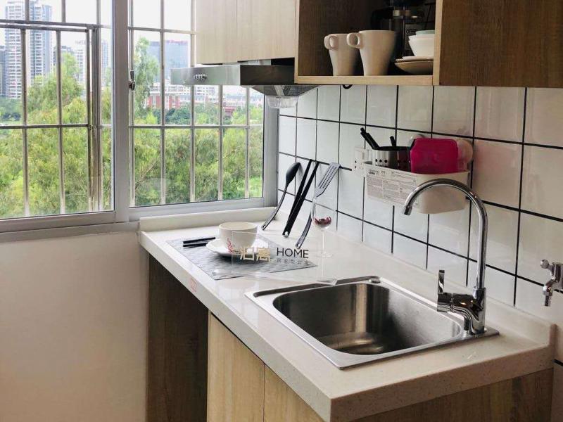毕业生单房带厨房 · 泊寓HOME-龙华文化广场公社