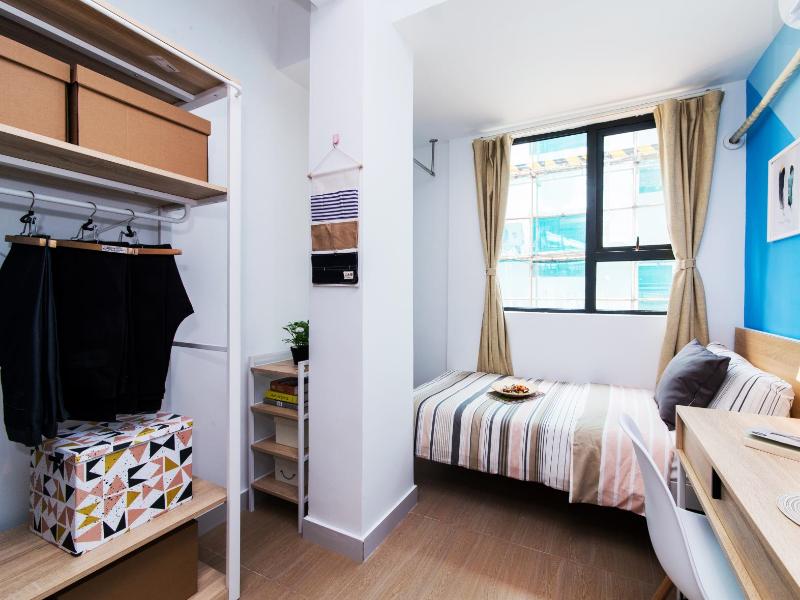 大单房带阳台 · 泊寓-龙城上角环公社