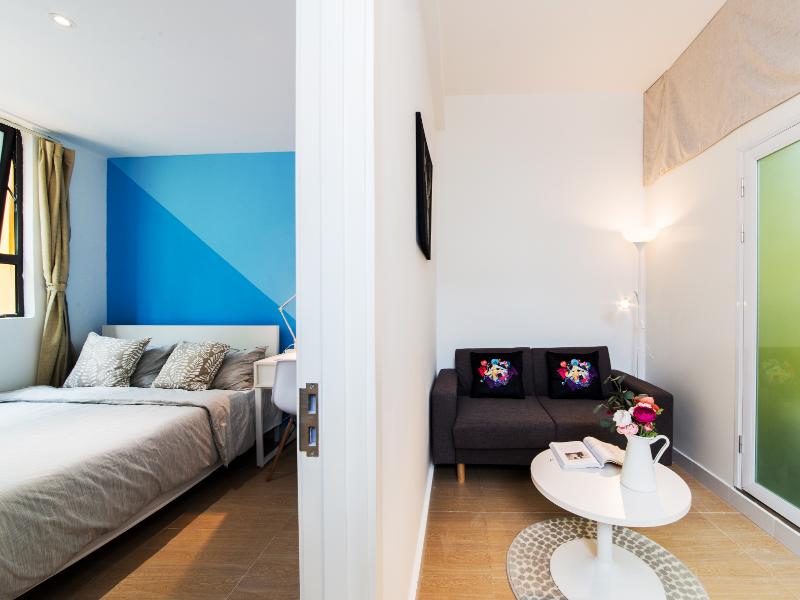 温馨一房一厅 · 泊寓-龙城上角环公社