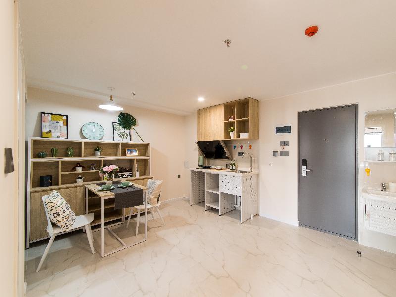 电梯厨房大两房 · 泊寓-国际会展中心社区