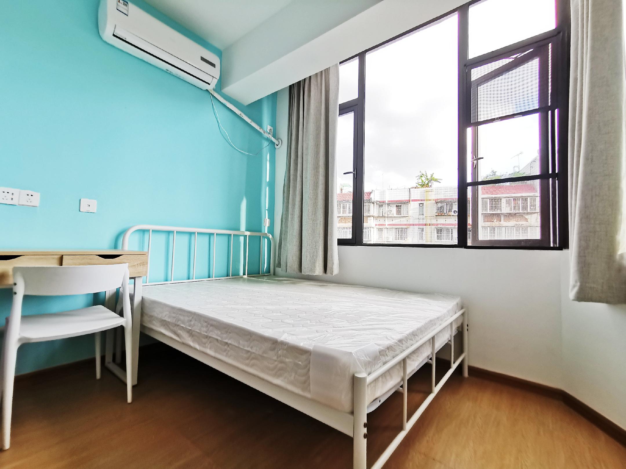 两房一厅带厨房阳台 · 泊寓-福田梅村地铁公社