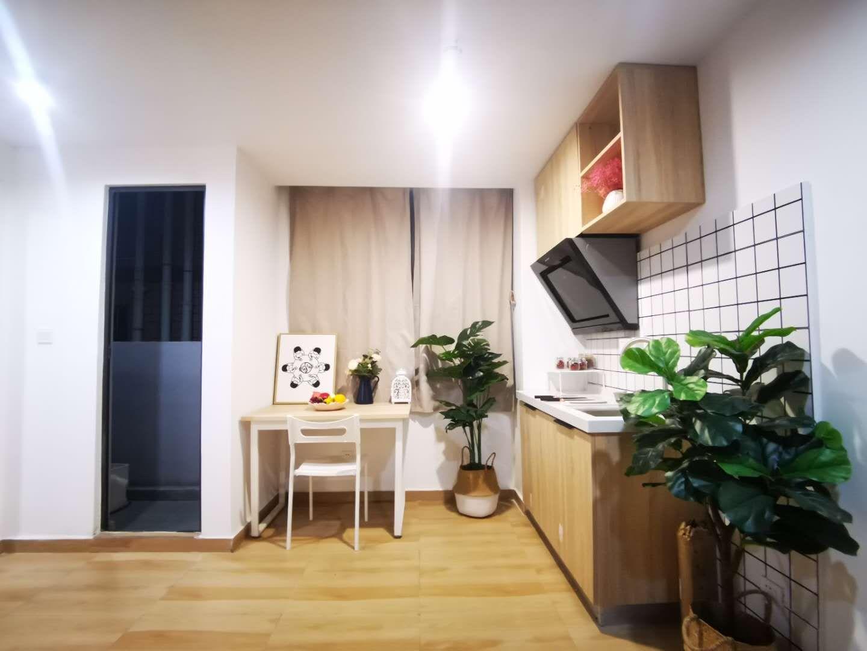 大单间带厨房 · 泊寓-布吉丹竹头圆墩公社