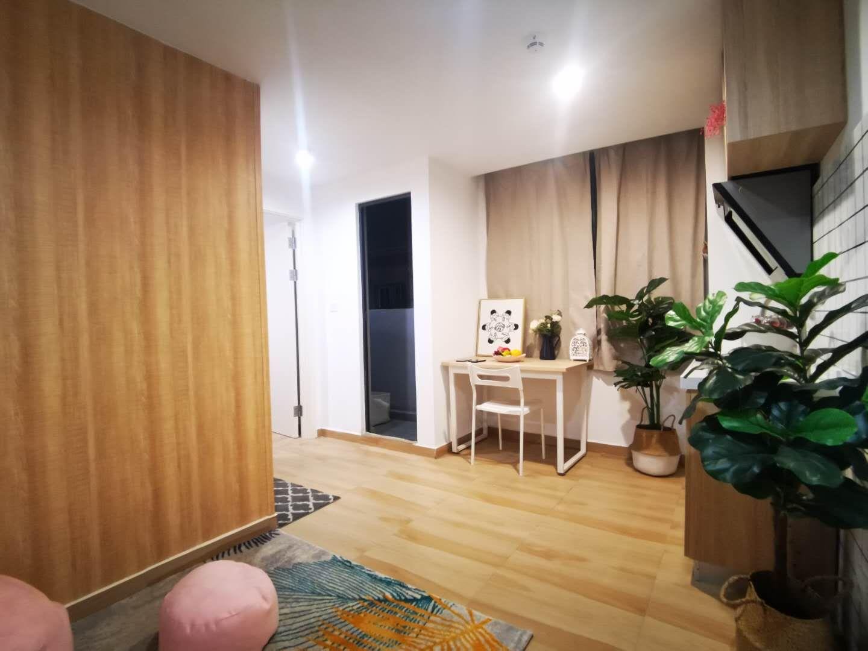 一房一厅带厨房阳台 · 泊寓-布吉丹竹头圆墩公社