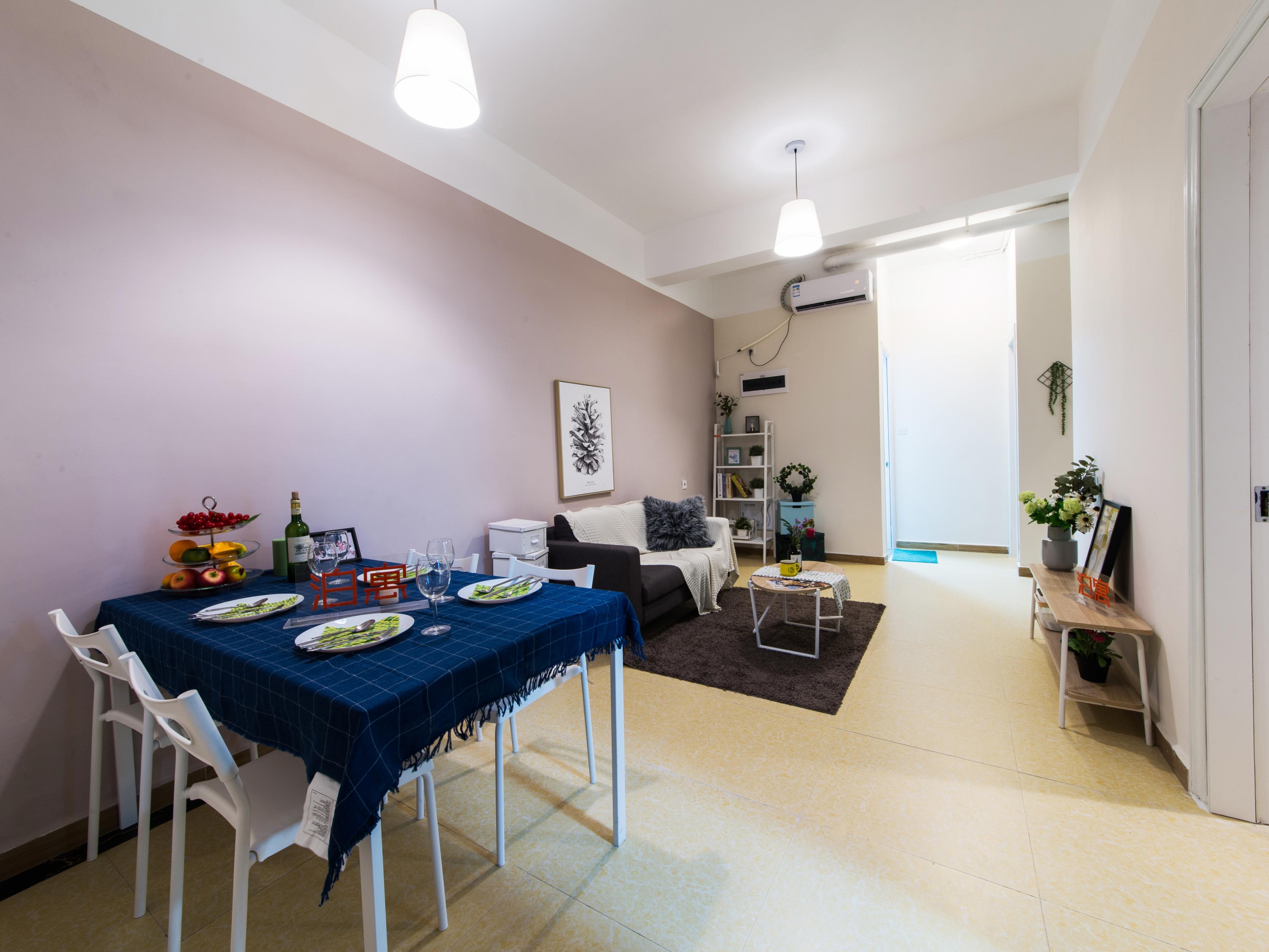 两房一厅(独立厨房) · 泊寓-布吉旗舰店