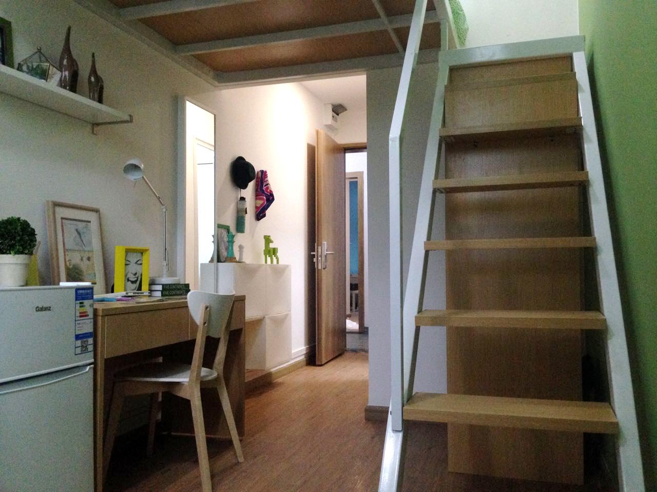 温馨舒适复式B户型 · 泊寓-南山科技园店